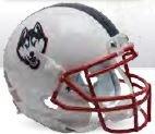 NCAA Connecticut Huskies Football Helmet Desk Caddy