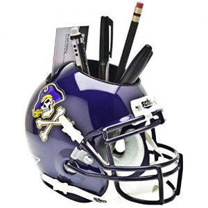 NCAA East Carolina Pirates Football Helmet Desk Caddy