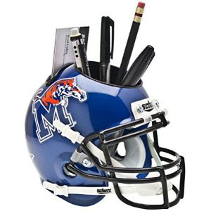 NCAA Memphis Tigers Football Helmet Desk Caddy