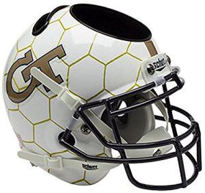 NCAA Georgia Tech Yellow Jackets Football Helmet Desk Caddy