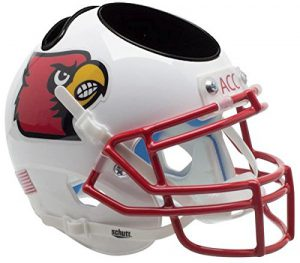 NCAA Louisville Cardinals Football Helmet Desk Caddy