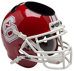 NCAA NC Wolfpack Football Helmet Desk Caddy