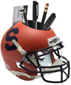NCAA Syracuse Orange Football Helmet Desk Caddy