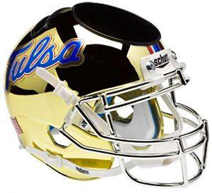 NCAA Tulsa Golden Hurricane Football Helmet Desk Caddy