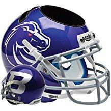 NCAA Boise State Broncos Football Helmet Desk Caddy