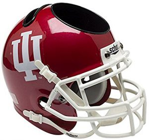 NCAA Indiana Hoosiers Football Helmet Desk Caddy