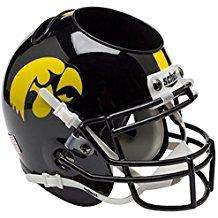 NCAA Iowa Hawkeyes Football Helmet Desk Caddy