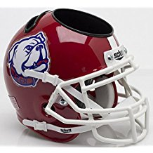 NCAA Louisiana Tech Bulldogs Football Helmet Desk Caddy