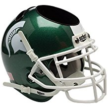 NCAA Michigan St Spartans Football Helmet Desk Caddy