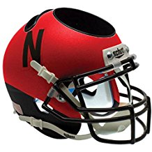 NCAA Nebraska Cornhuskers Football Helmet Desk Caddy