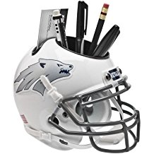NCAA Nevada Wolf Pack Football Helmet Desk Caddy