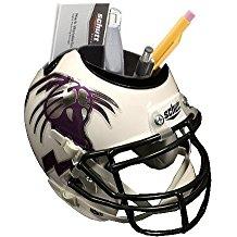NCAA Northwestern Wildcats Football Helmet Desk Caddy