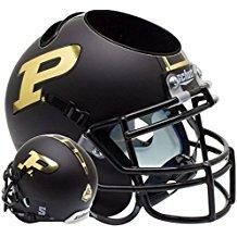 NCAA Purdue Boilermakers Football Helmet Desk Caddy