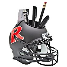 NCAA Rutgers Scarlet Knights Football Helmet Desk Caddy