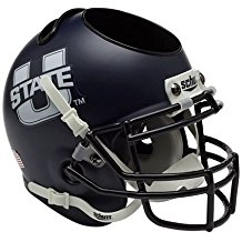 NCAA Utah State Aggies Football Helmet Desk Caddy