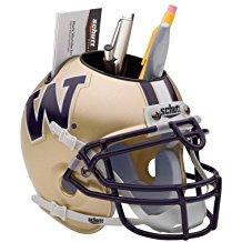 NCAA Washington Huskies Football Helmet Desk Caddy