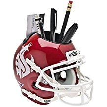 NCAA Washington State Cougars Football Helmet Desk Caddy