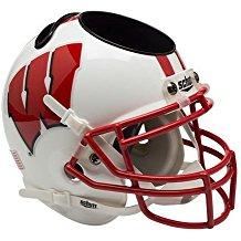 NCAA Wisconsin Badgers Football Helmet Desk Caddy
