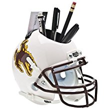 NCAA Wyoming Cowboys Football Helmet Desk Caddy