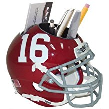 NCAA Alabama Crimson Tide Football Helmet Desk Caddy
