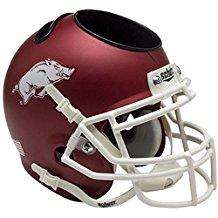NCAA Arkansas Razorbacks Football Helmet Desk Caddy