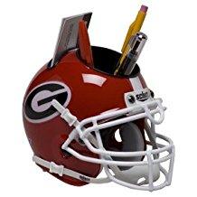 NCAA Georgia Bulldogs Football Helmet Desk Caddy