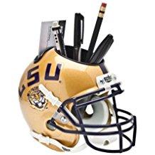 NCAA LSU Tigers Football Helmet Desk Caddy