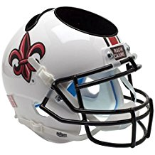 NCAA Louisiana-Lafayette Ragin' Cajun Football Helmet Desk Caddy