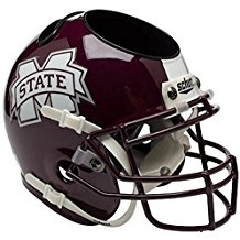 NCAA Mississippi State Bulldogs Football Helmet Desk Caddy