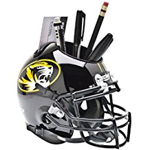 NCAA Missouri Tigers Football Helmet Desk Caddy