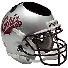 NCAA Montana Grizzlies Football Helmet Desk Caddy