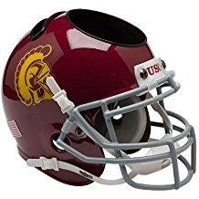 NCAA USC Trojans Football Helmet Desk Caddy